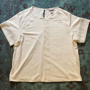 HM boxy blouse with details
